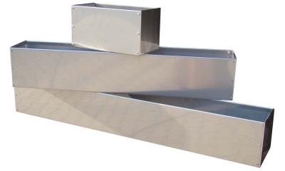 blumenkasten und pflanzkasten von wmt aus edelstahl aluminium verzinkt lackiert titanzink. Black Bedroom Furniture Sets. Home Design Ideas